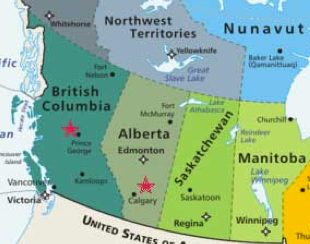 Sasquatchian Canada Map Western Canada Sexual Assault Initiative   Ending Violence BC
