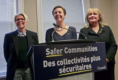 Tracy Porteous, Minister Leitch and Minister Findlay